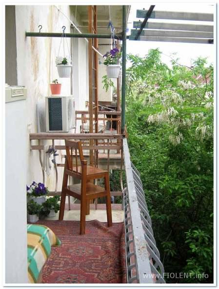 Севастополь, квартира Алены. Вид с балкона