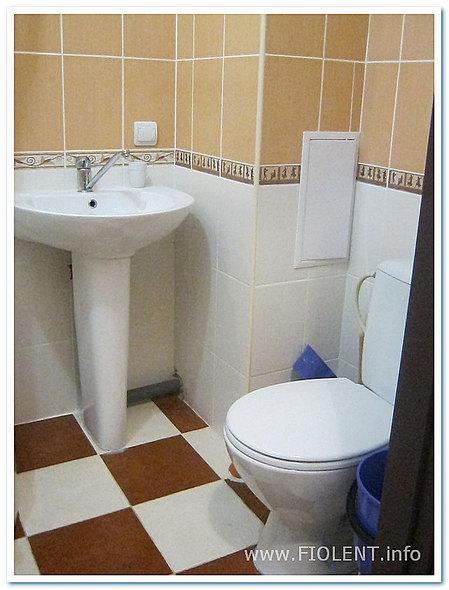 Алена, квартира в Севастополе. Туалет
